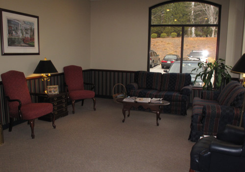 Dentist Office Lobby Interior View